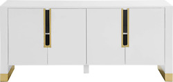 Meridian Furniture Florence Collection Modern | Contemporary Sideboard/buffet Wi