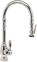 Waterstone 5600-sn Annapolis Kitchen Faucet Single Handle With Pull Out Spray S