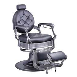 Heavy Duty Barber Chair Menand039s Grooming Barbershop Hydraulic Chair - Vanquish Br
