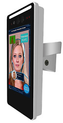 Non-contact Temperature Scanner Kiosk With Face Recognition And Access Control