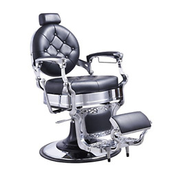Heavy Duty Barber Chair Menand039s Grooming Barbershop Hydraulic Chair - Vanquish