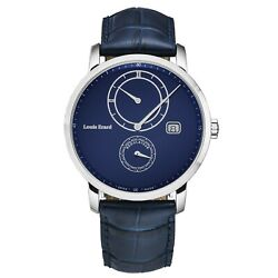 Louis Erard Menand039s And039le Randeacutegulateurand039 Blue Dial Automatic Watch 86236aa25.bdc555