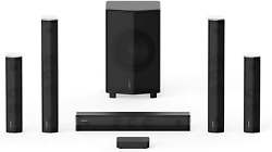 Enclave Cinehome Pro 5.1 Hd Wireless Home Theater Surround Sound System For Tv -