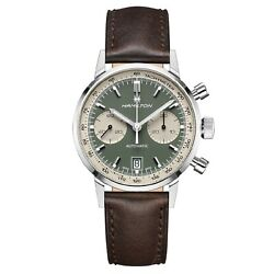 New Hamilton Men's H38416560 American Classic Intra-matic Green Dial Watch
