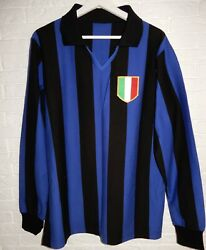 L Maglia European Cup Final 1964 Inter Home Long Sleeves Shirt Mazzola 8 Jersey