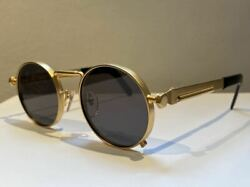 Used Jean Paul Gaultier 56 8171 Sunglasses Gold Color With Case Instructions