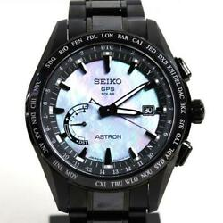 Seiko Astron Sbxb091 Limited Edition 8x22-0af0-2 Gps Solar Mens Watch Authentic