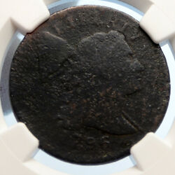 1796 United States Us Vintage Antique Old Liberty Cap Cent Coin Ngc I95567