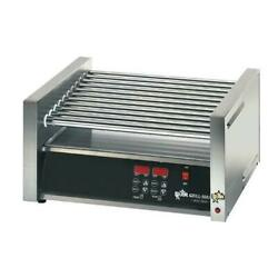Star - 75sce - Grill-max Proandreg Electronic 75 Hot Dog Roller Grill