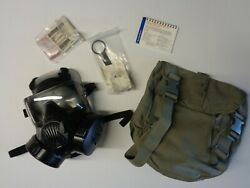 New Avon M50 Protective Gas Mask W/ Filters And More Medium
