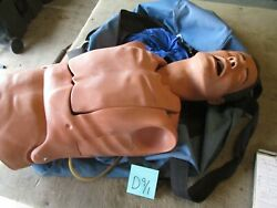 Used Laerdal Trainer, Airway Management, Missing Parts