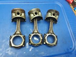 1977-1981 Yamaha Xs850 Special Pistons And Connecting Rods Oem