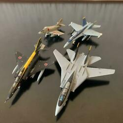 Fighter Aircraft Four Miniature Models Of From Japanex Condition