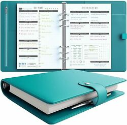Lux Productivity Pro A5 Planner – Best Undated Diary/organizer With Daily And