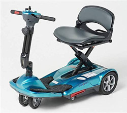Ev Rider Transport Move Manual Folding Scooter - Lithium Battery Lightweight Tra