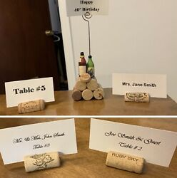 Handmade Place Card / Table Number / Picture Holders Wedding, Party And More