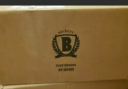 30000 Beckett Shield Thick Card 130 Pt Penny Soft Sleeves Ultra Pro Sealed Case