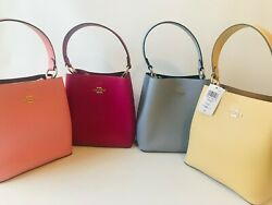 NWT Coach Small Town Bucket Bag in Pebble Leather Style # 91122 1011 $159.97