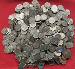 Roosevelt Silver Dimes - Lot Of 10 Mixed Dates/mints Circulated -free Shipping
