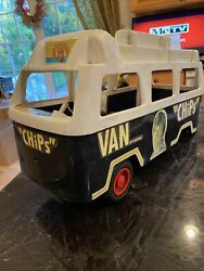 Chips Tv Show Toy 19.5 Inch Van By Empire Toys - Selling As Is