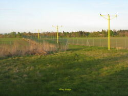 Photo 12x8 Runway 23 Approach Lights At Glasgow Airport Just 300m From The C2012