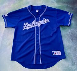 Vintage Russell Athletic Mlb Los Angeles Dodgers Men's Jersey Size Xxl.