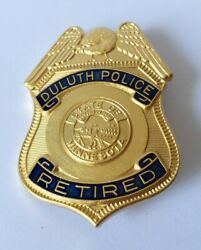 Collector Replica Badge Insigne Police Duluth Police Retired