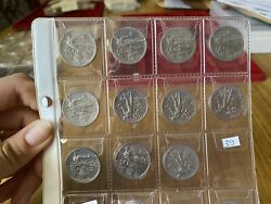Stock 11 Coins Kingdom Dand039 Italy 20 Cent Ladies Nation 1908 To The 1922