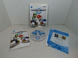 Mario Kart Wii Nintendo 2008 Complete W/ Manual Inserts Cib - Tested And Working