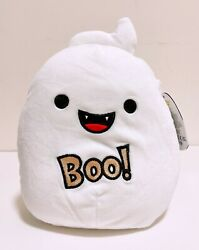 Squishmallows Official 2021 Halloween 8 Grace The Ghost Boo Plush Doll Toy