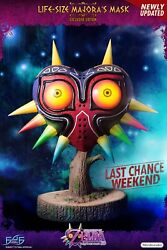 First 4 Figures Majoraand039s Mask Ex Life Size Day One Low Number