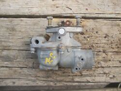 Allis Chalmers C Ac Tractor Zenith Carburetor Assembly