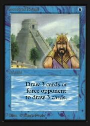 Ancestral Recall Not Tournament Legal Collectors Edition Int Mint Abugames