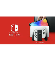 Nintendo Switch Oled Presale White Edition New In Box