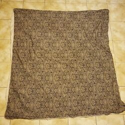 Croscill Blanket Queen Made In Usa