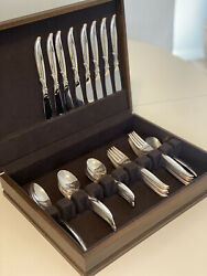 1847 Rogers Brothers Is Service For 8 Flatware 43 Pc W Box Holiday Thanksgiving