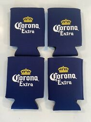 Corona Extra Beer Bottle Can Koozie Coozie Cooler Set Of 4