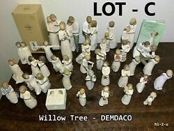 Willow Tree Figurines By Susan Lordi + Demdaco Figurines Many Choices = Lot C
