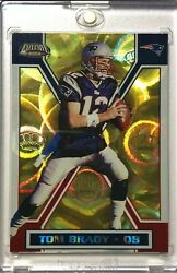 Rare Sssp 2002 Tom Brady Pacific Exclusive Gold Parallel Refractor