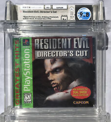 Sealed Wata 9.8 A+ Ps1 Resident Evil Director's Cut Greatest Hits Playstation