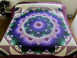 Amish Quilt For Sale Mariners Star Quilt Amish King Quilt Amish Queen Quilt