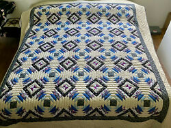 Amish Quilt For Sale Pineapple Log Cabin New Amish Quilt New Amish King Queen