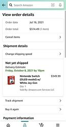 🎮nintendo Switch Oled White Console Brand New Unopened Pre Order Confirmed🎮