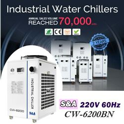 Cw-6200bn Industrial Water Chiller For Co2 Laser Engraver Cnc Engraving Machine