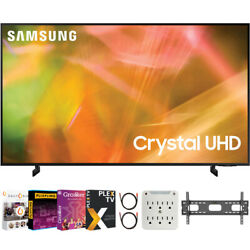 Samsung 55 Inch 4k Crystal Uhd Smart Led Tv 2021 With Movies Streaming Pack