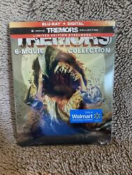 Tremors Steelbook 6-movie Collection Blu Ray + Digital 4 Disc 2019 New Sealed