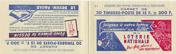 French Carnet Stamp Booklet 153 Yvert 886 C15 Mnh