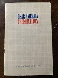 W. C. Westmoreland Signature, Dear America Letters Home From Vietnam, 1985
