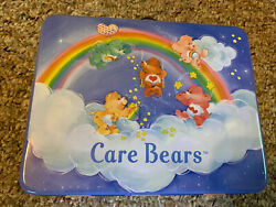 Rix Vintage Care Bears Metal Lunch Box 2002
