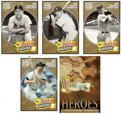 Lot Of 5 Mickey Mantle 2005 Upper Deck Baseball Heroes Bronze Trading Cards